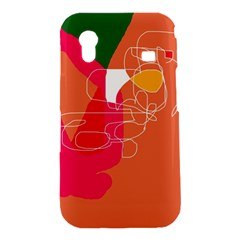 Orange abstraction Samsung Galaxy Ace S5830 Hardshell Case
