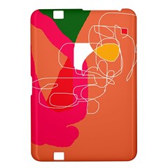 Orange abstraction Kindle Fire HD 8.9