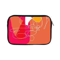 Orange Abstraction Apple Ipad Mini Zipper Cases