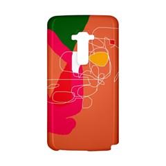 Orange abstraction LG G Flex