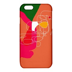 Orange abstraction iPhone 6/6S TPU Case