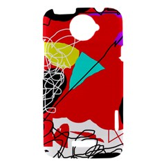 Colorful abstraction HTC One X Hardshell Case