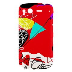 Colorful abstraction HTC Desire S Hardshell Case
