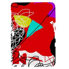 Colorful abstraction Samsung Galaxy Tab 8.9  P7300 Hardshell Case