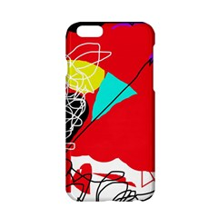 Colorful abstraction Apple iPhone 6/6S Hardshell Case