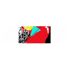 Colorful abstraction Satin Scarf (Oblong)