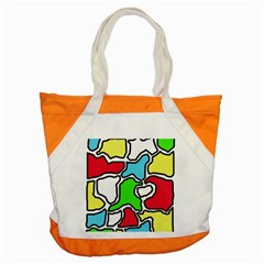 Colorful abtraction Accent Tote Bag