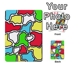 Colorful abtraction Multi-purpose Cards (Rectangle)