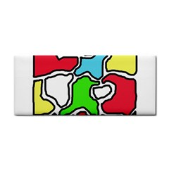 Colorful abtraction Hand Towel