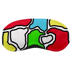 Colorful abtraction Sleeping Masks