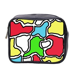 Colorful abtraction Mini Toiletries Bag 2-Side