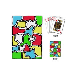 Colorful abtraction Playing Cards (Mini)