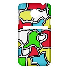 Colorful abtraction HTC Evo 4G LTE Hardshell Case