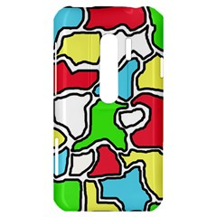 Colorful abtraction HTC Evo 3D Hardshell Case