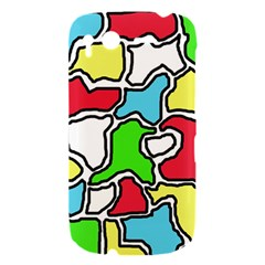 Colorful abtraction HTC Desire S Hardshell Case