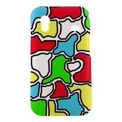 Colorful abtraction Samsung Galaxy Ace S5830 Hardshell Case