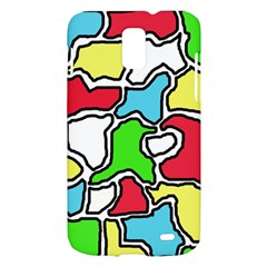 Colorful abtraction Samsung Galaxy S II Skyrocket Hardshell Case