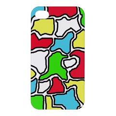 Colorful abtraction Apple iPhone 4/4S Premium Hardshell Case