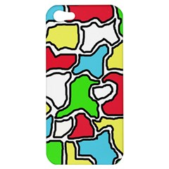 Colorful abtraction Apple iPhone 5 Hardshell Case