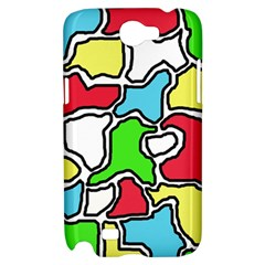 Colorful abtraction Samsung Galaxy Note 2 Hardshell Case