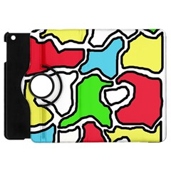 Colorful abtraction Apple iPad Mini Flip 360 Case