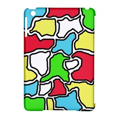 Colorful abtraction Apple iPad Mini Hardshell Case (Compatible with Smart Cover)