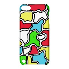 Colorful abtraction Apple iPod Touch 5 Hardshell Case with Stand