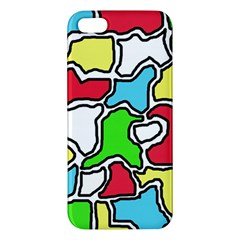 Colorful abtraction Apple iPhone 5 Premium Hardshell Case
