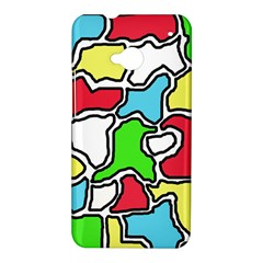 Colorful abtraction HTC One M7 Hardshell Case
