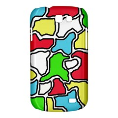 Colorful abtraction Samsung Galaxy Express I8730 Hardshell Case