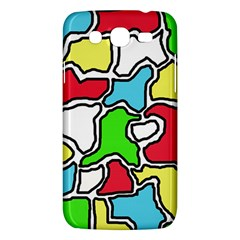 Colorful abtraction Samsung Galaxy Mega 5.8 I9152 Hardshell Case