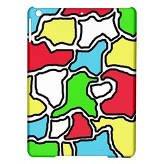 Colorful abtraction iPad Air Hardshell Cases