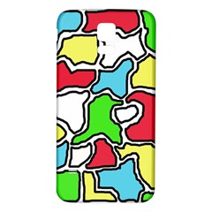 Colorful abtraction Samsung Galaxy S5 Back Case (White)