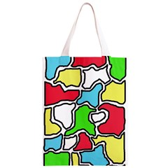 Colorful abtraction Classic Light Tote Bag