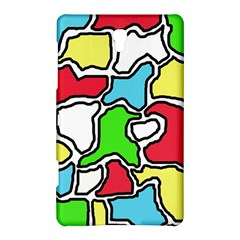 Colorful abtraction Samsung Galaxy Tab S (8.4 ) Hardshell Case