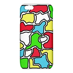 Colorful abtraction iPhone 6/6S TPU Case