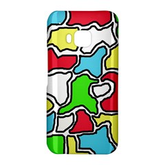 Colorful abtraction HTC One M9 Hardshell Case