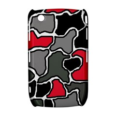 Black, gray and red abstraction Curve 8520 9300