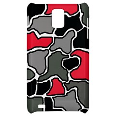 Black, gray and red abstraction Samsung Infuse 4G Hardshell Case
