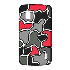 Black, gray and red abstraction LG Nexus 4
