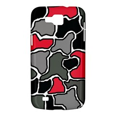 Black, gray and red abstraction Samsung Galaxy Premier I9260 Hardshell Case
