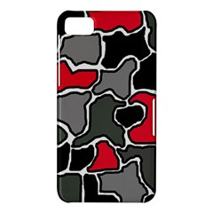 Black, gray and red abstraction BlackBerry Z10