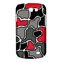 Black, gray and red abstraction Samsung Galaxy Express I8730 Hardshell Case