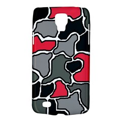 Black, gray and red abstraction Galaxy S4 Active