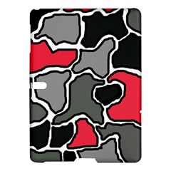 Black, gray and red abstraction Samsung Galaxy Tab S (10.5 ) Hardshell Case