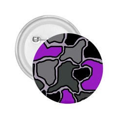Purple and gray abstraction 2.25  Buttons