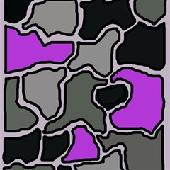 Purple and gray abstraction Magic Photo Cubes