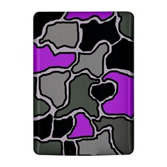 Purple and gray abstraction Kindle 4