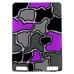 Purple and gray abstraction Kindle Touch 3G