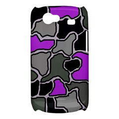 Purple and gray abstraction Samsung Galaxy Nexus S i9020 Hardshell Case